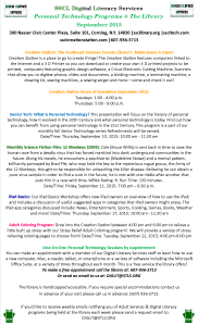 SSCL Digital Literacy Services Programs September 2015
